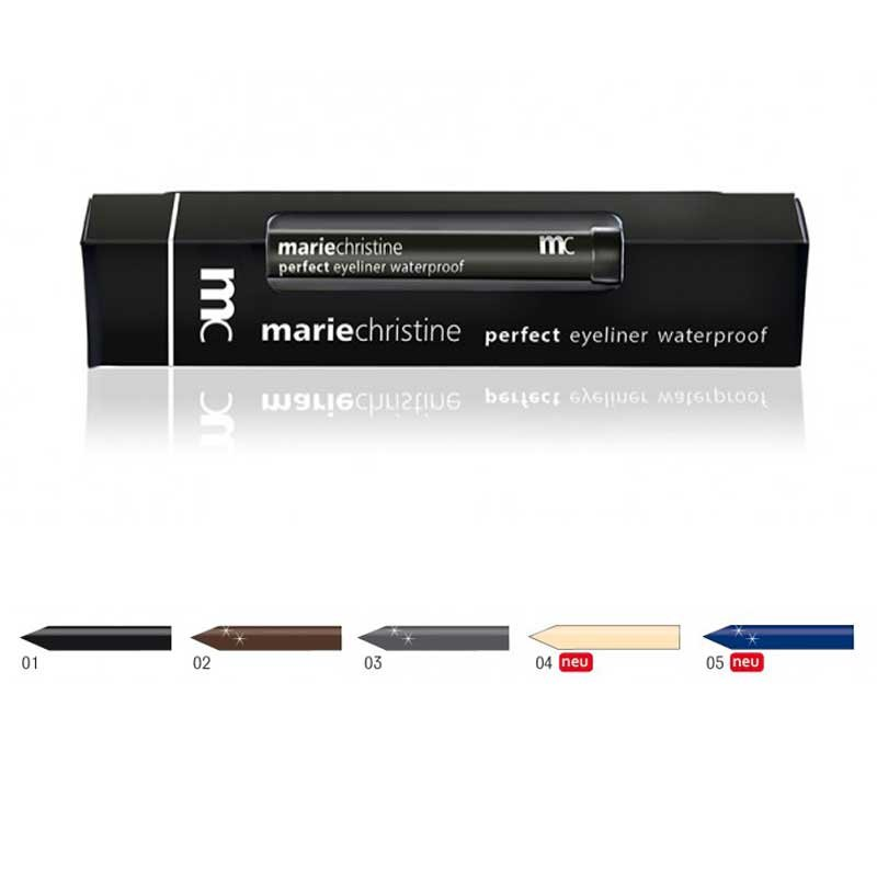 MC Marie Christine Perfect Eyeliner waterproof in verschiedenen Farben